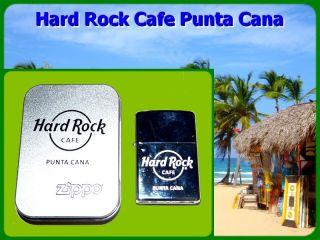 hard rock cafe punta cana city genuine zippo lighter