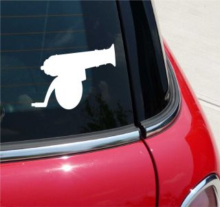 CANNON BALL BLACKPOWDER GRAPHIC DECAL STICKER VINYL CAR WALL