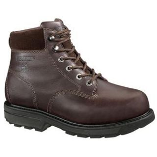 Wolverine Brown 6 Cannonsburg St Boots Work footwear Steel Toe Shoes