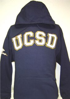 Navy Blue Ucsd University of California San Diego Tritons Hoodie