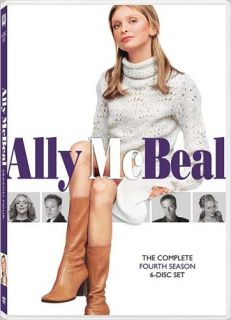 Ally McBeal The Complete Fourth Season Boxse New DVD
