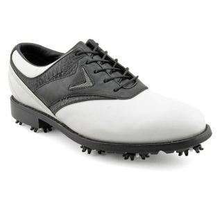 Callaway Golf ft Chev Saddle Mens Size 11 5 White Wide Leather Golf