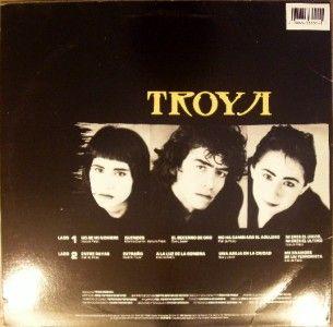 LP LATIN:TROYA Una Sombra En La Escalera 1988 ARIOLA RECORDS