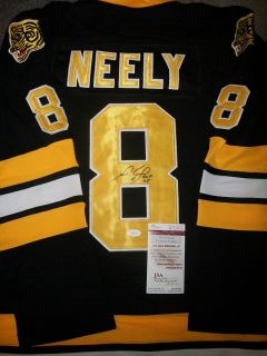 CAM NEELY AUTOGRAPHED SIGNED BOSTON BRUINS JERSEY COA JSA INSCRIBED