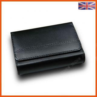 C30 Black leather camera bag case fits Nikon Coolpix S6100 S60