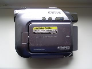 Sony Handycam DCR HC39E Mini DV Camcorder Accessories
