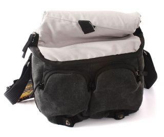 Vintage DSLR SLR Canvas Casual Shoulder Sling Bags Camera Case for