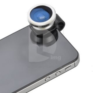 Eye Fisheye Camera Lens with Lens Cap for iPhone 5 4S 4 iPad