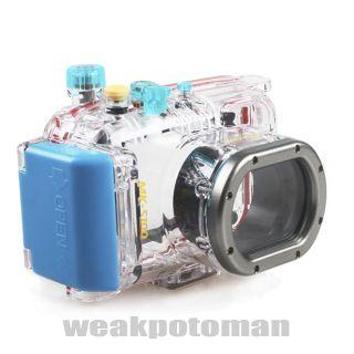 130ft Canon S100 WP DC43 Meikon Waterproof Underwater Housing Camera