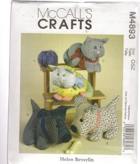 Stuffed Animal Patterns | Vintage Sewing Patterns