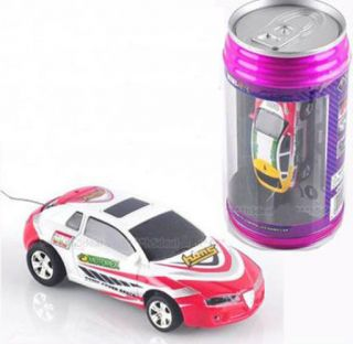 Mini Coke Can RC Radio Remote Control Racing Car F