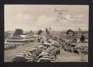 Quintland Oliva Booth Dionne Quintuplets Many Old Cars Callander ON
