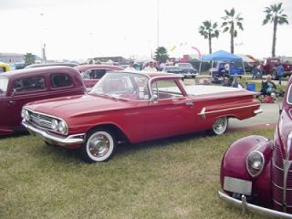 1961 61 Chevrolet Chevy El Camino Stereo Radio USA 630