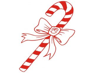 Candy Cane Girl Boy Kids Christmas Holiday Funny Tee
