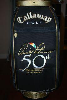 Arnold Palmer 2004 Callaway 50th Masters Staff Golf Bag Augusta LE 348