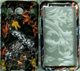 Leaf Camo HTC Inspire 4G at T Phone Cover Hard Case