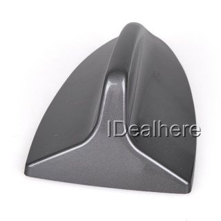 Gray Universal Auto Car Aerial Antenna Shark Fin Roof Decorative Dummy