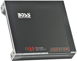 New Boss PH1500M 1500W Mono Block Car Audio Amplifier Amp 1500 Watt