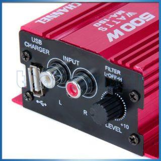 accessories superstore mini hi fi stereo audio amplifier amp car