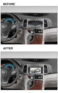Car DVD GPS Navigation Radio Video Audio for Toyota Venza 2008 2012