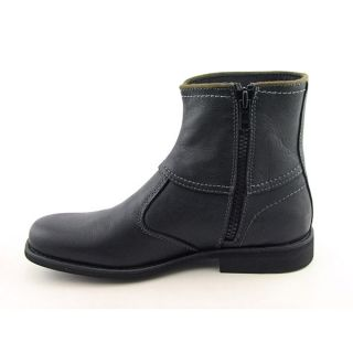 Calvin Klein Jeans Roger Mens SZ 8.5 Black Boots Ankle Shoes