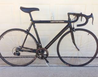 Cannondale Black Lightning 54 cm Frame Road Bike 1988