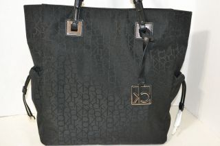 Calvin Klein Tote Bag Handbag Purse Black New