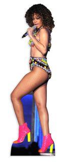Rihanna Lifesize Cardboard Cutout Standee Standup Pop Star Icon Sexy