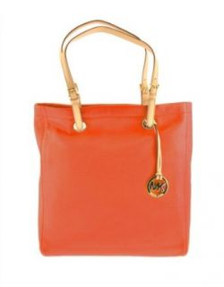 MICHAEL Michael Kors Jet Set Leather Tote LACQUER PINK