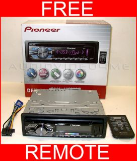 Pioneer DEH 3400UB Car Stereo Radio CD MP3 USB Player Car Stereo