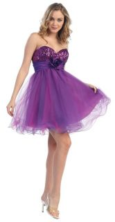 Coral and Teal Multi Color Cocktail Short Formal Prom Dress with