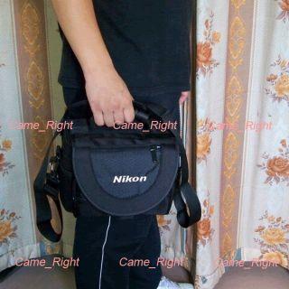 Nylon Portable SLR Camera Carry Case Bag for Nikon DSLR