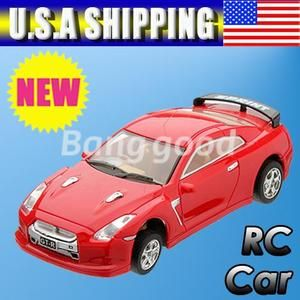 Red 4 Coke Can RC Radio Remote Control Racing Vehicles Toy Children