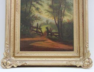 Reserve) 1800s Landscape Oil Painting CARL VON PERBANDT (1832 1911