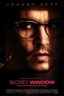 Secret Window Movie Poster 2 Sided Original Final 27x40