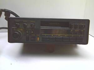 Model CQ LH256A in Dash Am FM Car Radio Cassette Tape Player