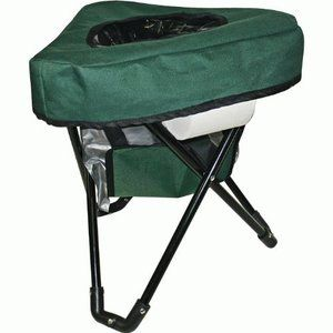 Tri to Go Portable Toilet Chair Seat Mobile Outdoor Camping