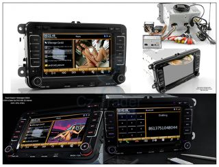 Volkswagen VW Car Dash 7 inch Touch Screen DVD Stereo Player 2 DIN GPS