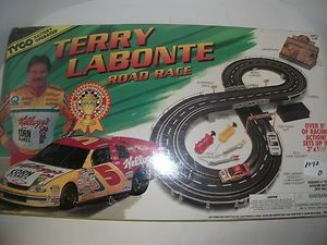 Tyco Terry Labonte Road Race Slot Car Racing Set Sealed No 67003