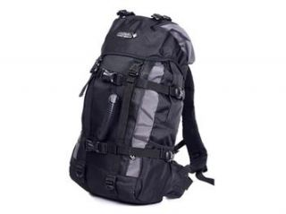 Fashion Canvas 35L 45L Camping Backpacks Hiking Rucksack Zipper Travel