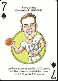 Football Playing Cards For Penn State Nittany Lions Fans Includes