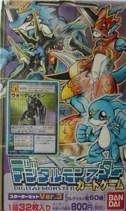 Digimon Card Game Starter Set Version 3 Bandai 32 Cards
