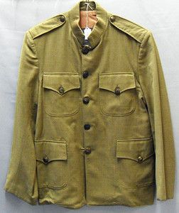 WWI US Army Officers Worsted Wool Dress Uniform Coat Jacket Tunic