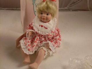 Carol Anne Limited Edition Numbered Porcelian Doll by Karen Kennedy
