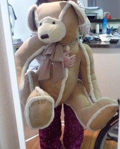NEW BATH % BODY WORKS TEDDY BEAR $150 3 ft Tall LOVELY