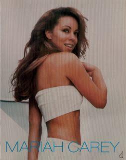 Mariah Carey 1998 Butterfly Tour Concert Program Book