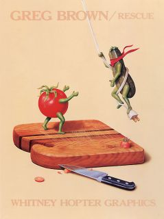 Rescue Greg Brown Kitchen Novelty Humor Print