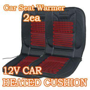 12V Car Seat Cushion 2ea HEATED SEAT COVER CAR WARMER Cigarette BEST