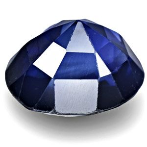 03 Carat Unique Ink Blue Sapphire from Kashmir Unheated