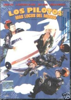 DVD Los Pilotos mas Locos Movie 1988 New Emilio Disi